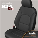 Kia Rio Katzkin Leather Seat Upholstery Kit