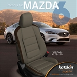Mazda 6 Katzkin Leather Seat Upholstery Kit