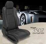 Nissan 350Z Katzkin Leather Seat Upholstery Covers