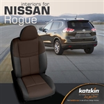 Nissan Rogue Katzkin Leather Seat Upholstery Covers