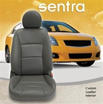 Nissan Sentra Katzkin Leather Seat Upholstery Covers