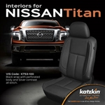 Nissan Titan Katzkin Leather Seat Upholstery Covers