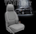 Pontiac Torrent Katzkin Leather Seat Upholstery Kit