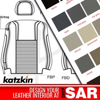 Scion xD Katzkin Leather Seat Upholstery Kit