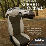 Subaru Outback Katzkin Leather Seat Upholstery Kit