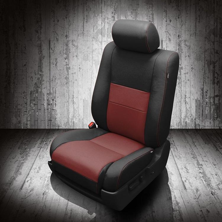 Toyota sequoia katzkin leather seat upholstery kit - Toyota sequoia interior dimensions ...