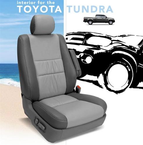 Toyota Tundra Katzkin Leather Seat Upholstery Kit