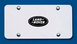 Land Rover Chrome License Plate