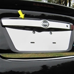 Nissan Versa Sedan Chrome License Bar Trim, 2012, 2013, 2014, 2015, 2016, 2017