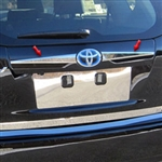 Toyota Prius V Chrome License Bar Extension Trim, 2012, 2013, 2014, 2015, 2016, 2017