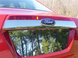 Ford Fusion Chrome License Bar Trim, 2010 - 2011