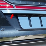 Lincoln MKC Chrome License Bar Trim, 2015, 2016, 2017