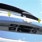 Chevrolet Equinox Chrome License Bar Trim, 2018