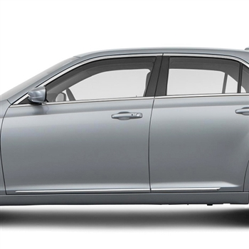 Chrysler 300 Chrome Lower Door Moldings, 2011, 2012, 2013, 2014, 2015, 2016
