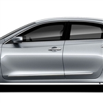Nissan Altima Chrome Lower Door Moldings, 2013, 2014, 2015, 2016, 2017