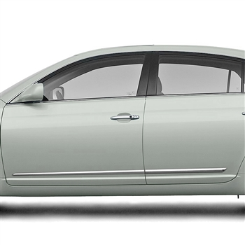 Toyota Avalon Chrome Lower Door Moldings, 2005, 2006, 2007, 2008, 2009, 2010, 2011, 2012