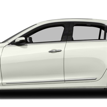 Cadillac CTS Chrome Door Mouldings, 2008, 2009, 2010, 2011, 2012, 2013