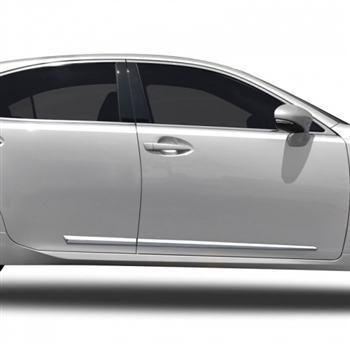 Lexus Es350 Chrome Lower Door Moldings 2007 2008 2009