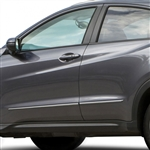 Honda HR-V Chrome Lower Door Moldings, 2016, 2017