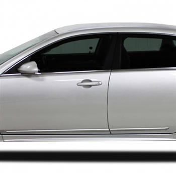 Chevrolet Impala Chrome Door Molding Trim, 2006, 2007, 2008, 2009, 2010, 2011, 2012, 2013