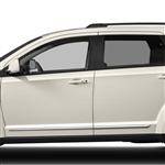 Dodge Journey Chrome Door Mouldings, 2009, 2010, 2011, 2012, 2013, 2014, 2015, 2016, 2017, 2018