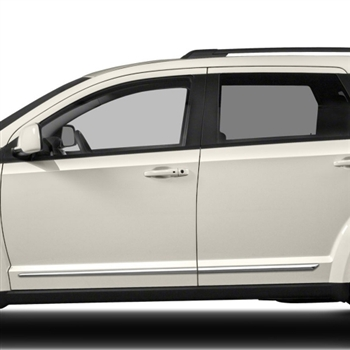 Dodge Journey Chrome Door Mouldings, 2009, 2010, 2011, 2012, 2013, 2014, 2015, 2016