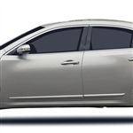 Nissan Maxima Chrome Lower Door Moldings, 2009, 2010, 2011, 2012, 2013, 2014