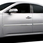 Nissan Maxima Chrome Middle Door Moldings, 2009, 2010, 2011, 2012, 2013, 2014