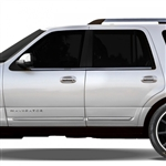 Lincoln Navigator Chrome Lower Door Moldings, 2015, 2016, 2017
