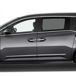 Honda Odyssey Chrome Lower Door Moldings, 2011, 2012, 2013, 2014, 2015, 2016, 2017