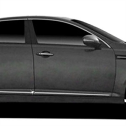 Kia Optima Chrome Lower Door Moldings, 2011, 2012, 2013