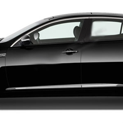Kia Optima Chrome Lower Door Moldings, 2014, 2015