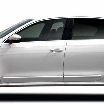 Volkswagen Passat Chrome Lower Door Accent Moldings, 2012, 2013, 2014, 2015, 2016, 2017