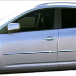 Nissan Rogue Chrome Door Moldings, 2008, 2009, 2010, 2011, 2012, 2013