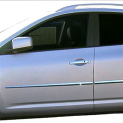 Nissan Rogue SELECT Chrome Door Moldings, 2014, 2015