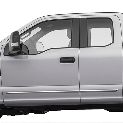 Ford F150 Chrome Door Accent Moldings, 2015, 2016, 2017