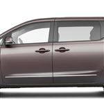 Kia Sedona Chrome Lower Door Moldings, 2010, 2011, 2012, 2013, 2014, 2015, 2016, 2017