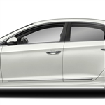 Hyundai Sonata Chrome Lower Door Moldings, 2011, 2012, 2013, 2014, 2015, 2016, 2017, 2018