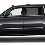 Chevrolet Suburban Chrome Door Molding Accents, 2015, 2016, 2017, 2018