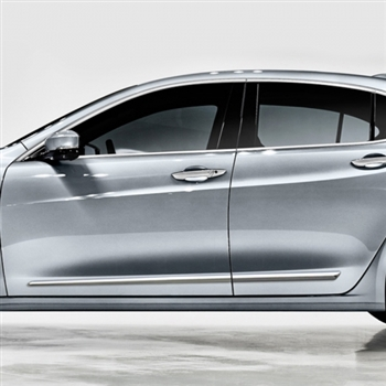 Acura TLX Chrome Lower Door Moldings, 2015, 2016, 2017