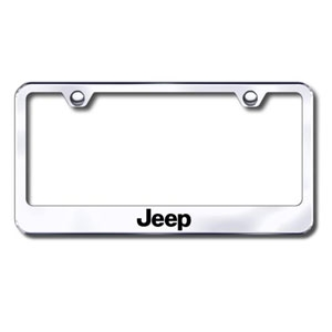 Premium Chrome License Plate Frame