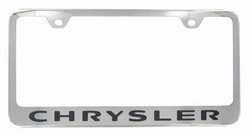 Chrysler Chrome License Plate Frame