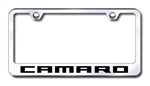 Chevrolet Camaro Premium Chrome License Plate Frame