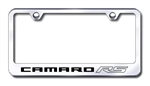 Chevrolet Camaro RS Premium Chrome License Plate Frame