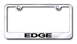 Ford Edge Chrome License Plate Frame