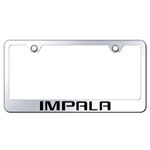 Chevrolet Impala Premium Show Chrome License Plate Frame