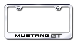 Ford Mustang GT Premium Chrome License Plate Frame