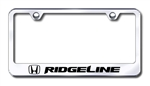 Honda Ridgeline Premium Chrome License Plate Frame