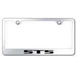 Cadillac STS Chrome License Plate Frame