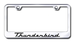 Ford Thunderbird Premium Chrome License Plate Frame